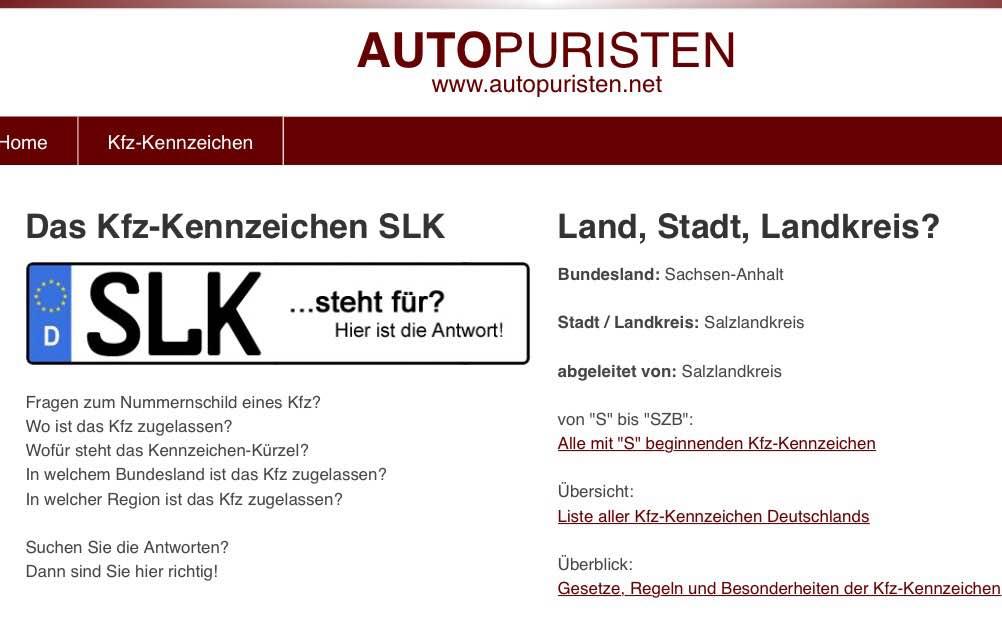SLK Mercedes Benz Cabrio Z3 Z4 AudiTT Alfa Freizeit Urlaub Reisen ...